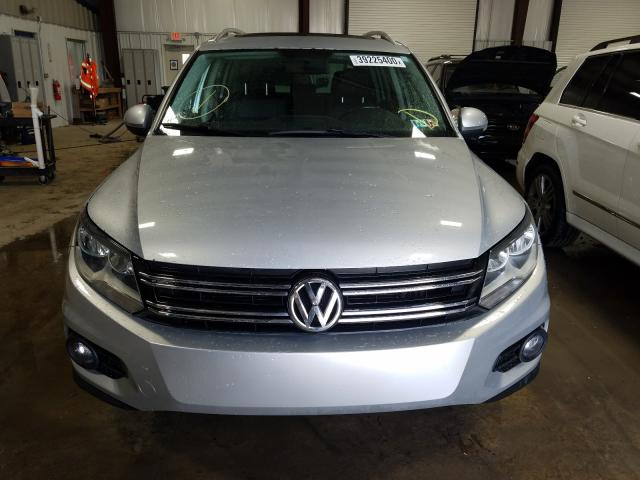 WVGBV3AX3DW567177 - 2013 Volkswagen Tiguan S 2.0L engine view