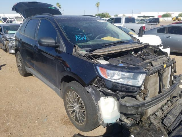 Ford Edge SE salvage cars for sale: 2015 Ford Edge SE
