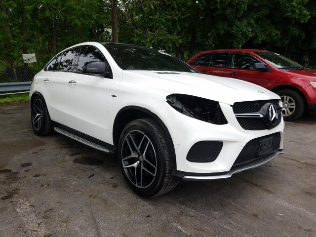 Mercedes-Benz GLE Coupe salvage cars for sale: 2016 Mercedes-Benz GLE Coupe