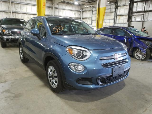 Fiat salvage cars for sale: 2018 Fiat 500X POP