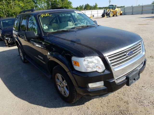 Salvage cars for sale from Copart Harleyville, SC: 2007 Ford Explorer X