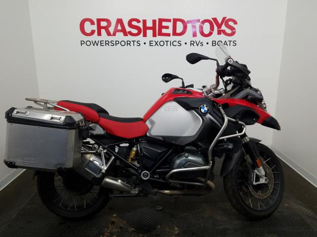BMW R1200 GS A salvage cars for sale: 2016 BMW R1200 GS A