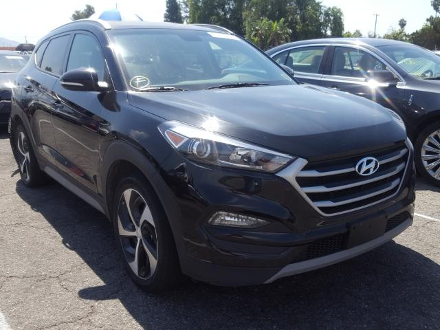 Hyundai Tucson Sport salvage cars for sale: 2018 Hyundai Tucson Sport