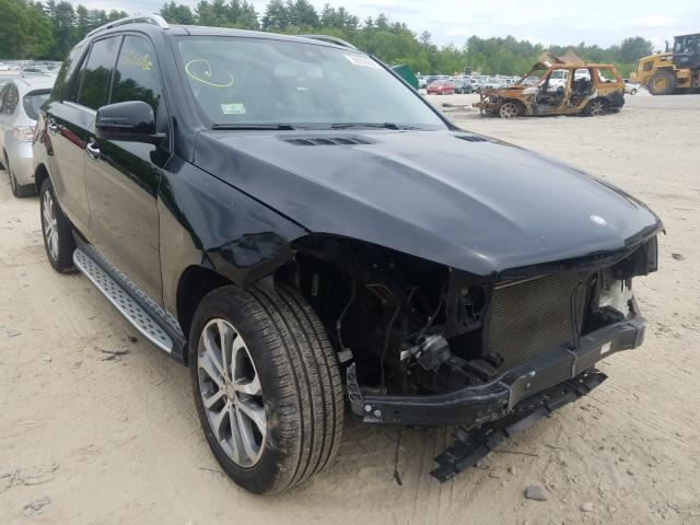 Mercedes-Benz GLE 350 4M salvage cars for sale: 2016 Mercedes-Benz GLE 350 4M