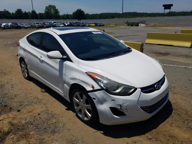 Salvage cars for sale from Copart Concord, NC: 2011 Hyundai Elantra GL