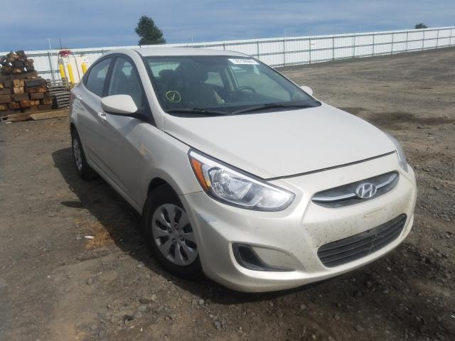 Salvage cars for sale from Copart Airway Heights, WA: 2016 Hyundai Accent SE