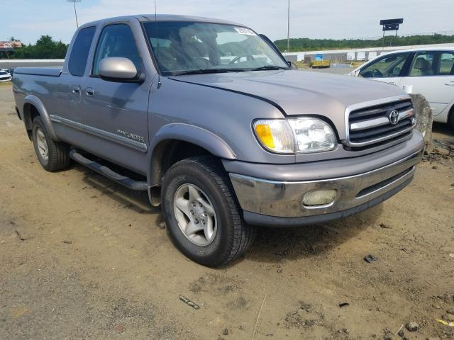 Salvage cars for sale from Copart Concord, NC: 2002 Toyota Tundra ACC