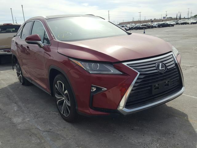 Lexus RX 350 Base salvage cars for sale: 2018 Lexus RX 350 Base