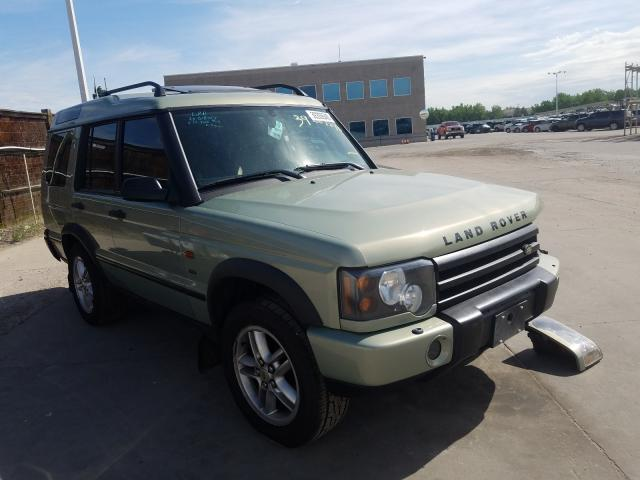 Land Rover salvage cars for sale: 2003 Land Rover Discovery