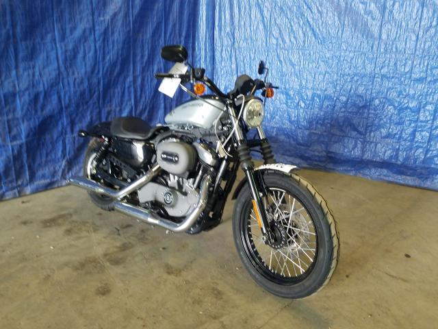 Salvage cars for sale from Copart Finksburg, MD: 2012 Harley-Davidson XL1200 NIG