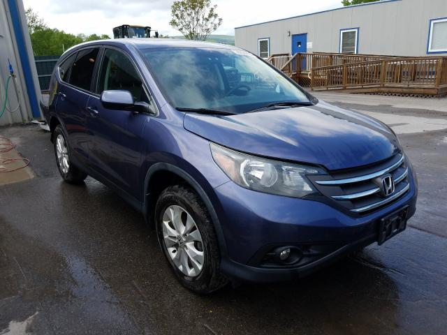 Salvage cars for sale from Copart Duryea, PA: 2014 Honda CR-V EX