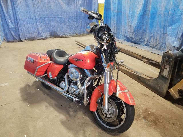 Salvage cars for sale from Copart Columbia Station, OH: 2012 Harley-Davidson Flhx Street
