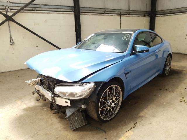 BMW M4 COMPETI - 2016 rok