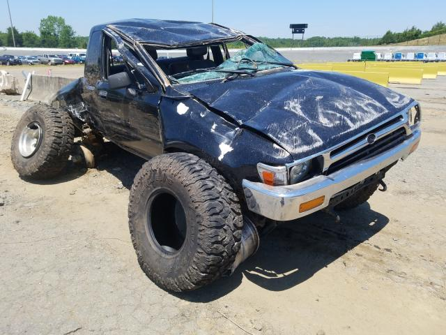 Salvage cars for sale from Copart Concord, NC: 1995 Toyota Pickup 1/2
