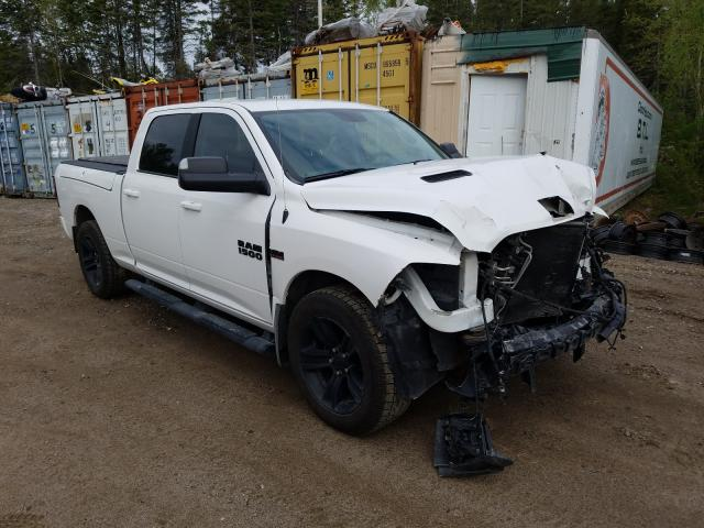 Salvage cars for sale from Copart Montreal Est, QC: 2017 Dodge RAM 1500 Sport