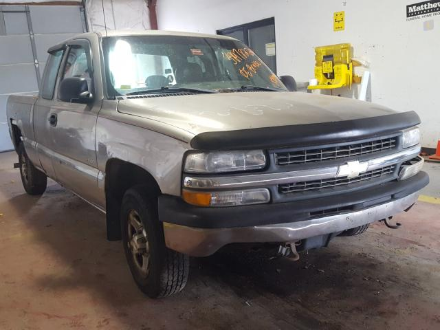 Salvage cars for sale from Copart Lyman, ME: 2001 Chevrolet Silverado