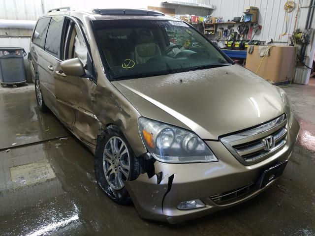 Honda Odyssey TO salvage cars for sale: 2007 Honda Odyssey TO