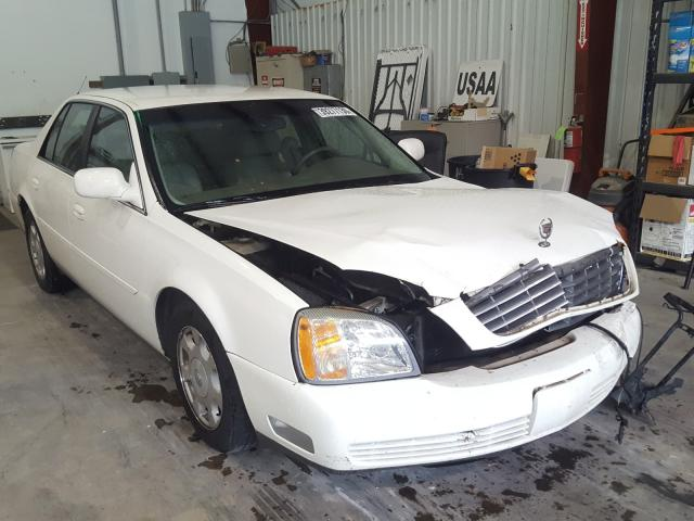 Cadillac Deville salvage cars for sale: 2002 Cadillac Deville