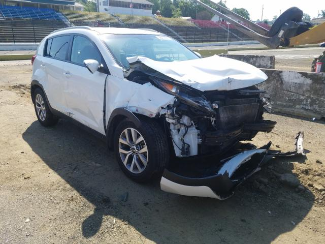 Salvage cars for sale from Copart Concord, NC: 2015 KIA Sportage L