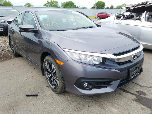 Honda Civic EXL salvage cars for sale: 2018 Honda Civic EXL