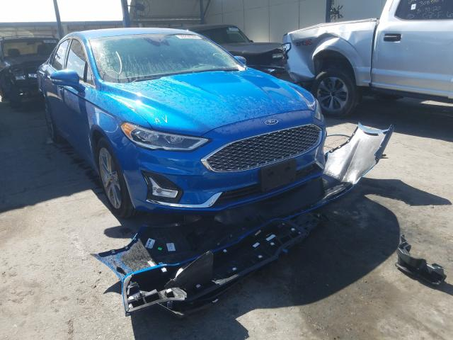 2020 Ford Fusion Titanium for sale in Anthony, TX