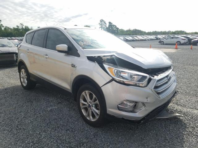 Salvage cars for sale at Lumberton, NC auction: 2017 Ford Escape SE