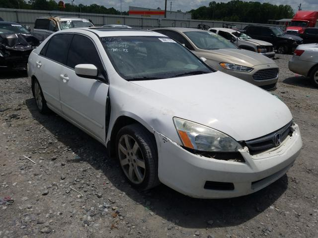 Honda Accord EX salvage cars for sale: 2007 Honda Accord EX