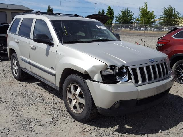 Salvage cars for sale from Copart Eugene, OR: 2008 Jeep Grand Cherokee