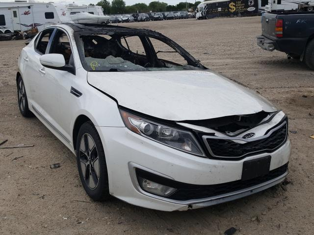 Salvage cars for sale from Copart Nampa, ID: 2011 KIA Optima Hybrid
