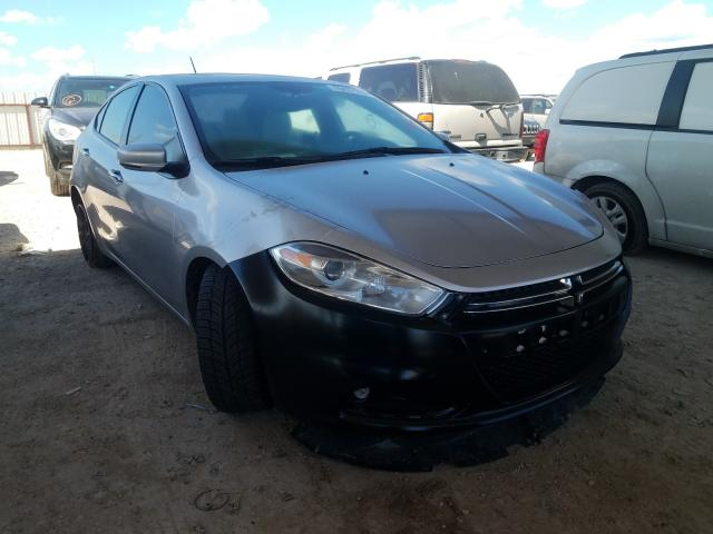 Salvage cars for sale from Copart Temple, TX: 2013 Dodge Dart Limited