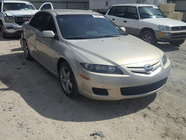 Salvage cars for sale from Copart Midway, FL: 2008 Mazda 6 I
