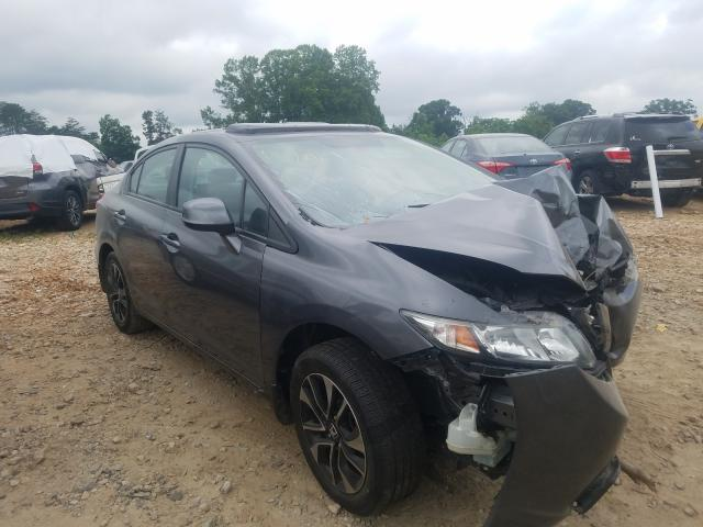 Honda Civic EXL salvage cars for sale: 2013 Honda Civic EXL