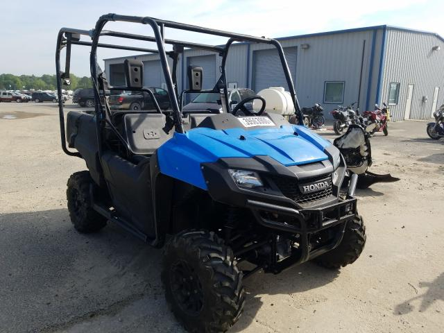 Honda SXS700 M4 salvage cars for sale: 2016 Honda SXS700 M4