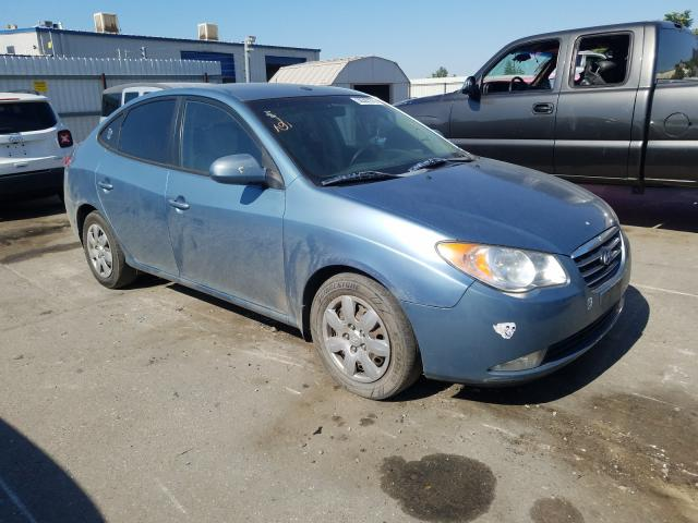 Salvage cars for sale from Copart Bakersfield, CA: 2007 Hyundai Elantra GL