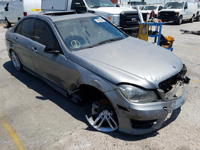 Salvage cars for sale from Copart Wilmington, CA: 2013 Mercedes-Benz C 250