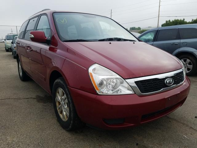 Salvage cars for sale from Copart Moraine, OH: 2011 KIA Sedona LX