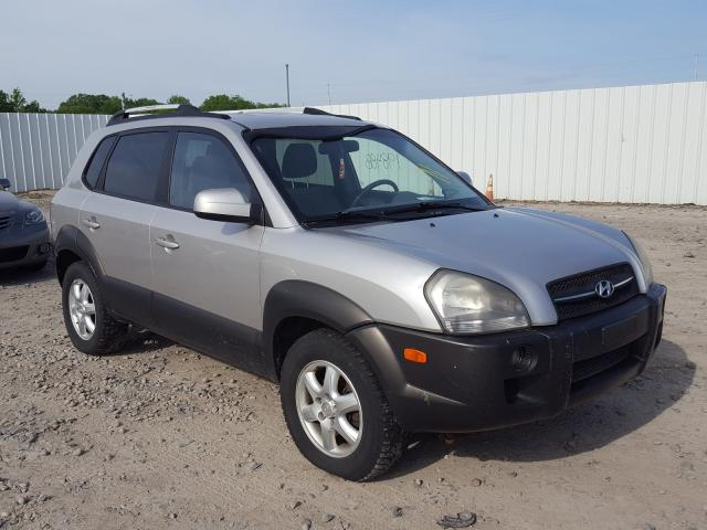 Salvage cars for sale from Copart Lansing, MI: 2005 Hyundai Tucson GLS