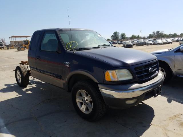 Salvage cars for sale from Copart Sun Valley, CA: 2003 Ford F150