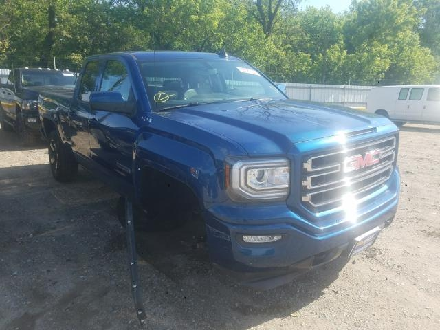 Salvage cars for sale from Copart Glassboro, NJ: 2016 GMC Sierra K15