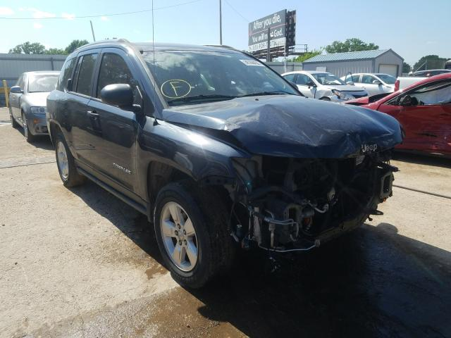 Salvage cars for sale from Copart Wichita, KS: 2014 Jeep Compass SP