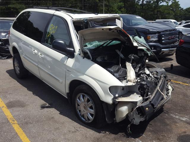 Chrysler salvage cars for sale: 2007 Chrysler Town & Country