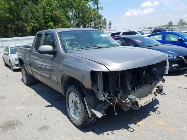 Salvage cars for sale from Copart Dunn, NC: 2007 Chevrolet Silverado