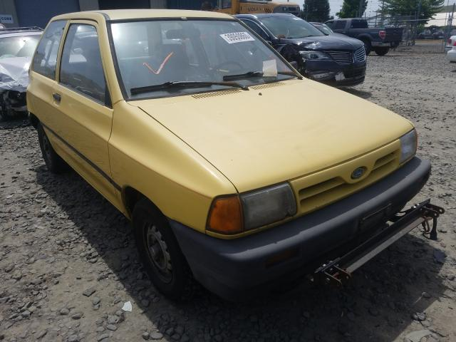 Salvage cars for sale from Copart Eugene, OR: 1990 Ford Festiva L