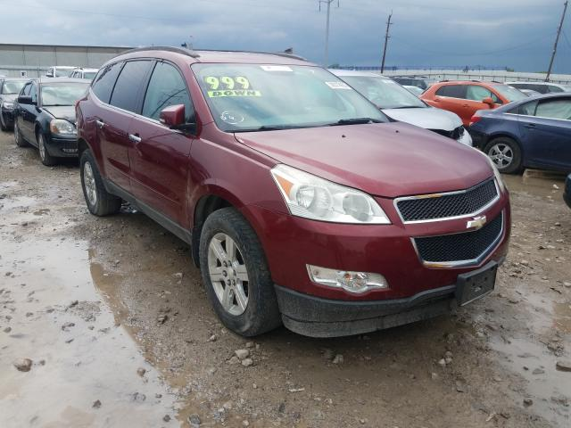 Salvage cars for sale from Copart Columbus, OH: 2011 Chevrolet Traverse L