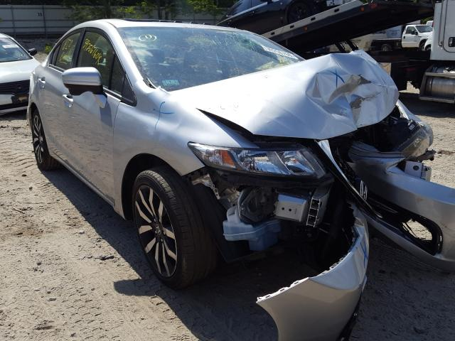 Honda Civic EXL salvage cars for sale: 2015 Honda Civic EXL
