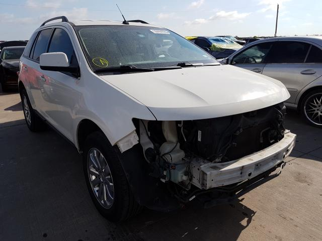 Ford Edge SEL salvage cars for sale: 2010 Ford Edge SEL