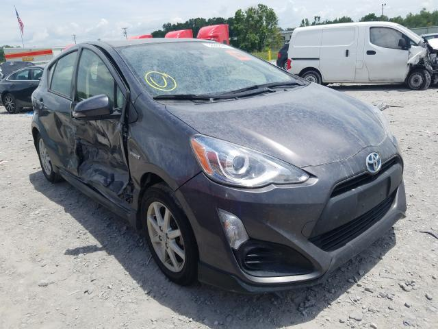 Salvage cars for sale at Montgomery, AL auction: 2017 Toyota Prius C