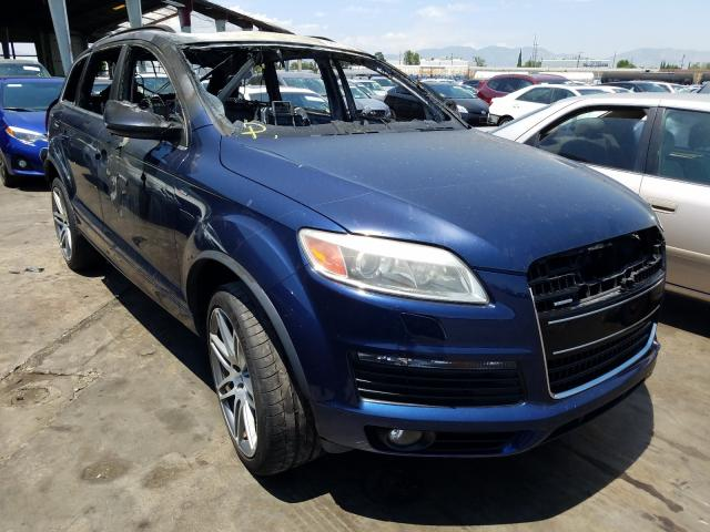 Audi Q7 3.6 Quattro salvage cars for sale: 2008 Audi Q7 3.6 Quattro