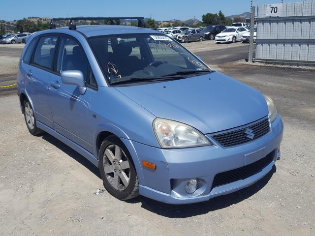 Suzuki salvage cars for sale: 2005 Suzuki Aerio SX