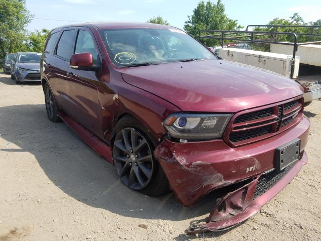 Dodge Durango GT salvage cars for sale: 2017 Dodge Durango GT